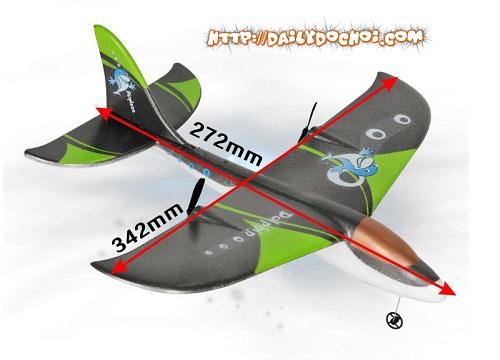 Kích thước máy bay